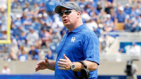 7. Mark Stoops, Kentucky