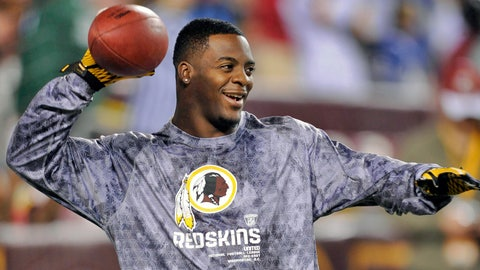 Washington Redskins -- RB Clinton Portis