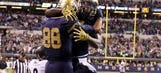 Young receivers impressing early at Notre Dame