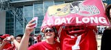 Jones, Garrett not concerned about number of 49ers fans at AT&T Stadium