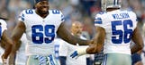 Cowboys defensive line pressure on the rise