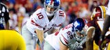 Eli Manning excellent in the intermediate passing game in 2014