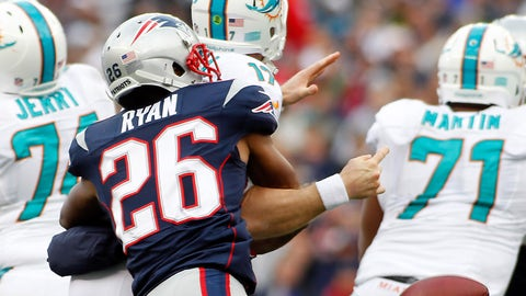 CB Logan Ryan (Patriots)