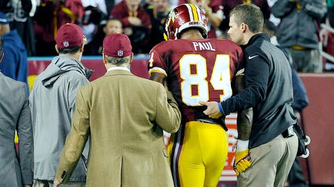 Niles Paul, TE, Redskins