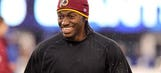 Redskins QB RG3 makes grocery shopping fun with new toy