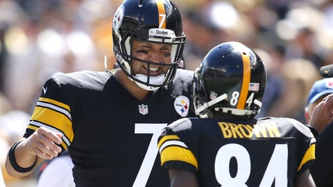 STEELERS (-6.5) over Giants (Over/under: 48)