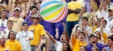 PHOTOS: LSU fans have gator on their tailgating menus