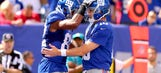 Did Eli question Rueben Randle's route on fourth down attempt?