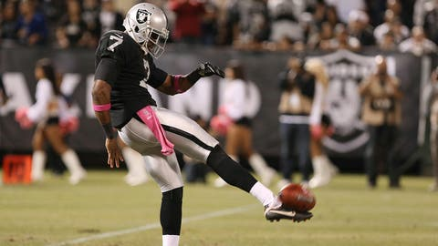 Marquette King, P, Oakland Raiders: Fort Valley State