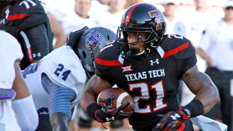 DeAndre Washington, Texas Tech