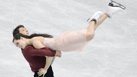 Virtue and Moir defy gravity
