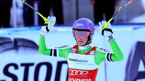 Hofl-Riesch on the hunt for more gold
