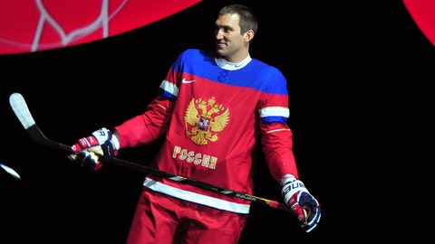 The Russian Men's Hockey Team