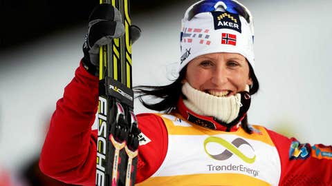 Marit Bjoergen (Norway) — Cross-Country Skiing