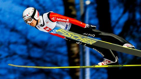 Simon Ammann (Switzerland) — Ski Jumping