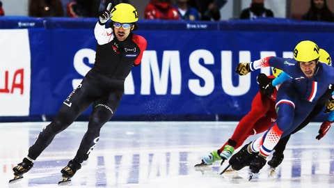 Charles Hamelin (Canada) — Speed Skating