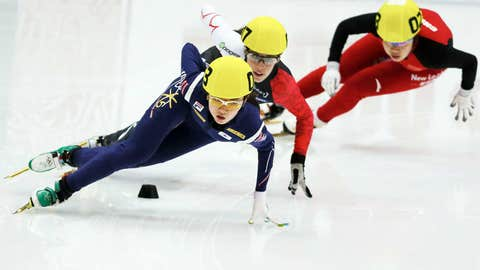 Suk-hee Shim (South Korea) — Short Track Speed Skating