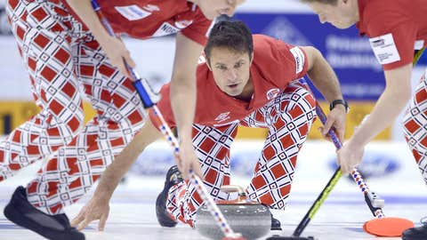 The Norwegian Men's Curling Team