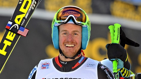 Now: Ted Ligety