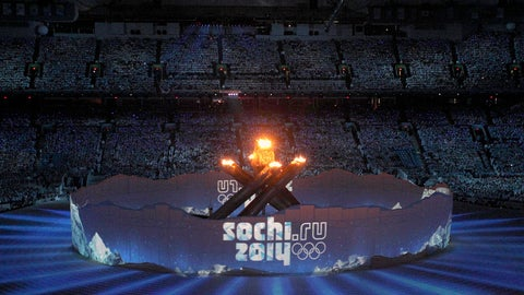 February runner-up: Feb. 24 – Russia wins medal count at Sochi Olympics
