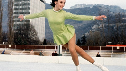 1968: Peggy Fleming becomes an icon