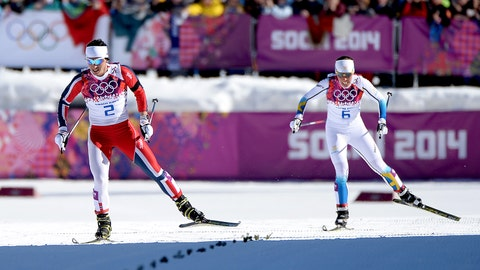 Bjoergen wins her fourth Olympic gold