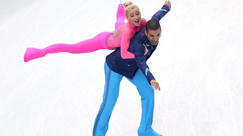 Savchenko's 'Pink Panther' bodysuit