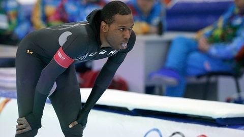 Davis skates short of a medal