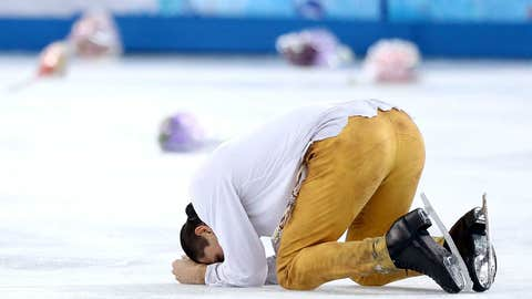 Trankov lays it all on the ice