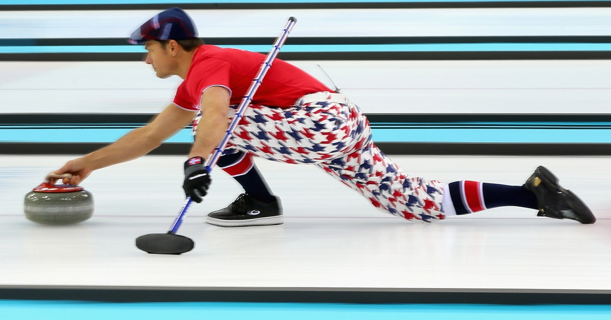 Norwegian Curlers Earn Gold With Newest Set Of Eye Popping