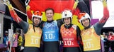 Germany's luge dominates again, takes gold in relay