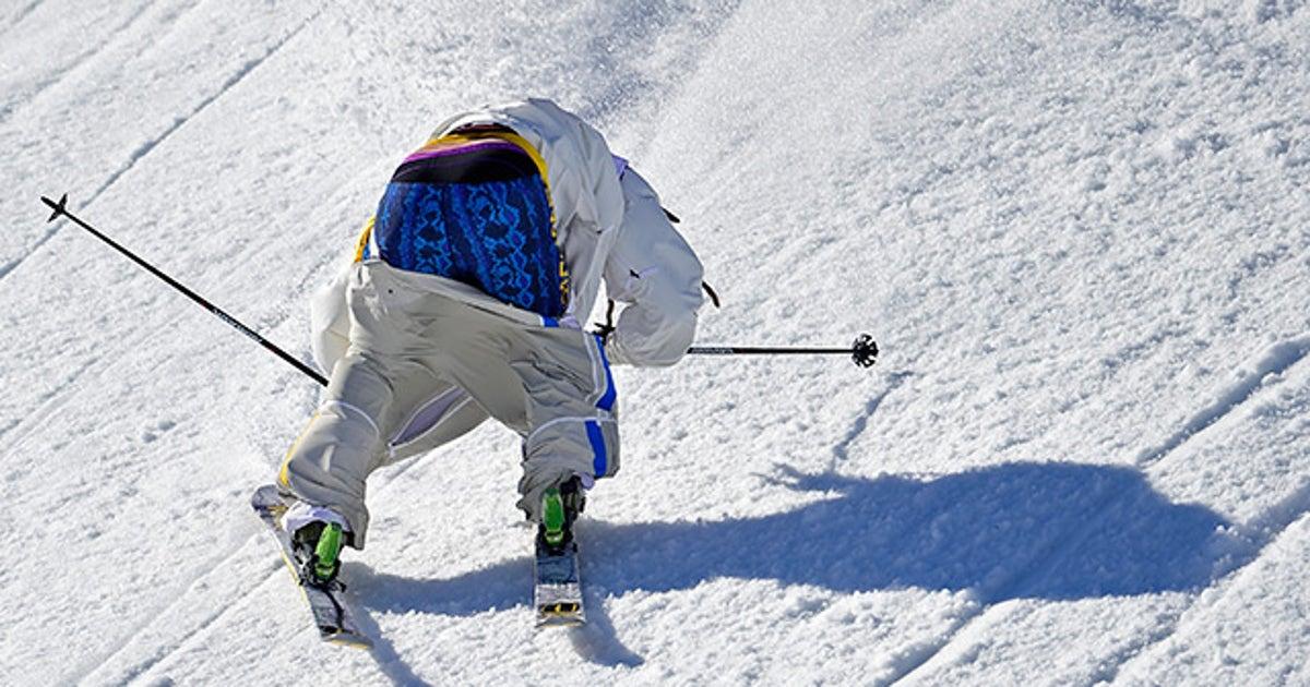 Skier Henrik Harlaut Almost Loses Pants During Fall At