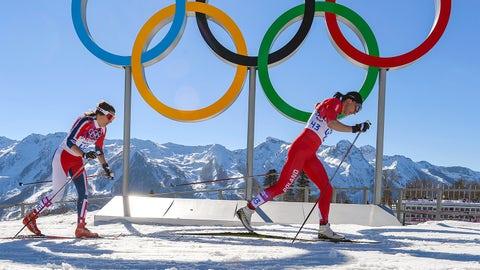 Olympic finish