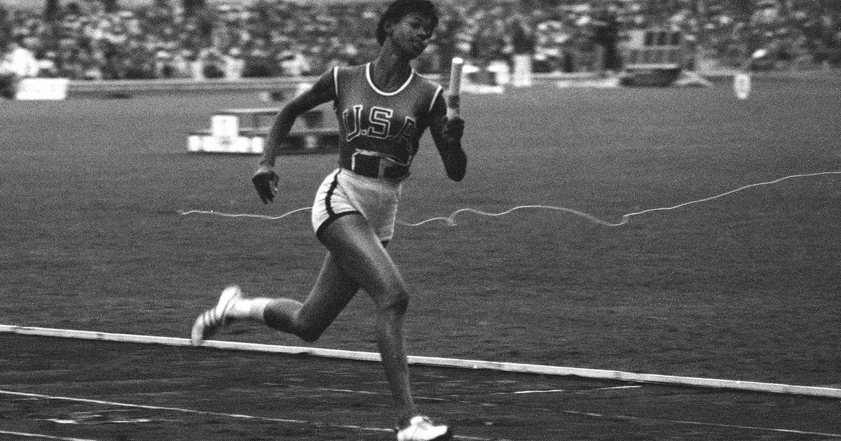 Wilma Rudolph Exhibited Grace Brilliance And Speed On The