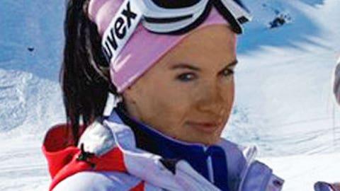Russian skier breaks back in training run