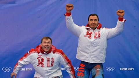 Russian two-man bobsled