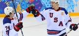 US-Canada puts men's hockey center stage with medal hopes on line