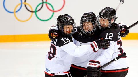 Happiest hockey team ever?