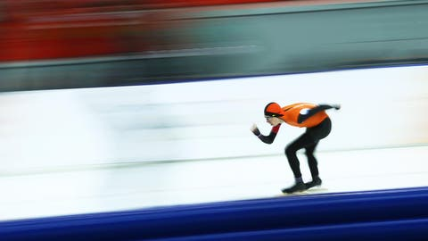 Orange you glad the Dutch are so good at speedskating?
