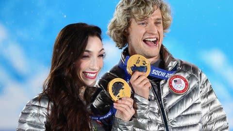 A golden medal ceremony