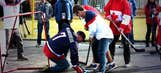 USA, Canada so pumped, they hit Sochi street-hockey style
