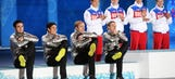 US speedskaters bring the fun with medal ceremony hijinks