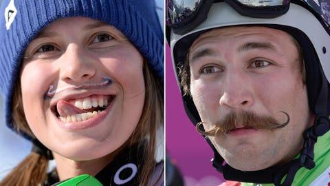 Moustache mania