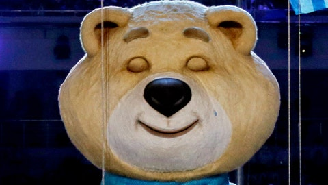 The Sochi mascot sheds tear, enters our collective nightmares