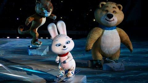 Sochi mascots