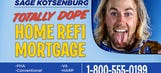 Sage Kotsenburg's 'totally dope' mortgage biz can save you 'chowsands'