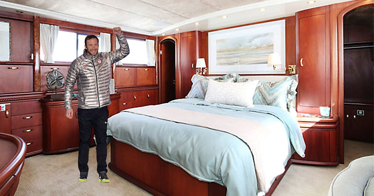 Rent Out Olympian Bode Miller S Luxury Yacht For 3k A Night Fox Sports