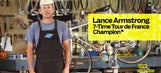 Lance Armstrong returns to cycling … sort of