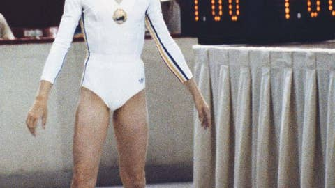 The perfect 10 - Nadia Comaneci
