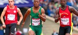 Top South African sprinter banned two years for refusing test
